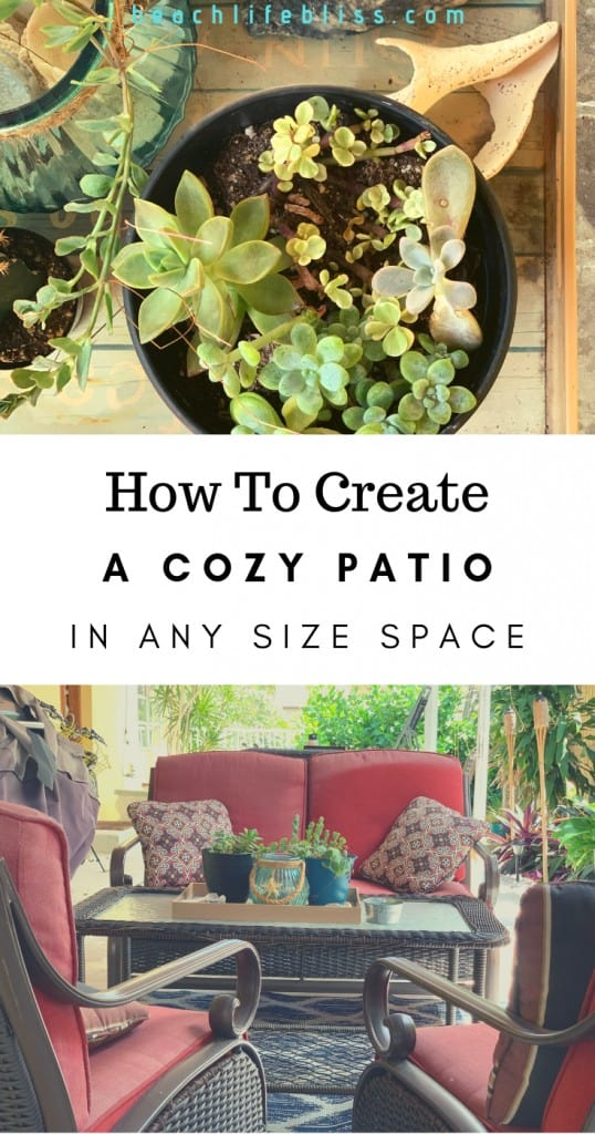 How To Create A Cozy Patio In Any Size Space
