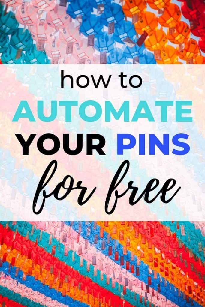 How To Automate Your Pinterest Pins For Free using IFTTT