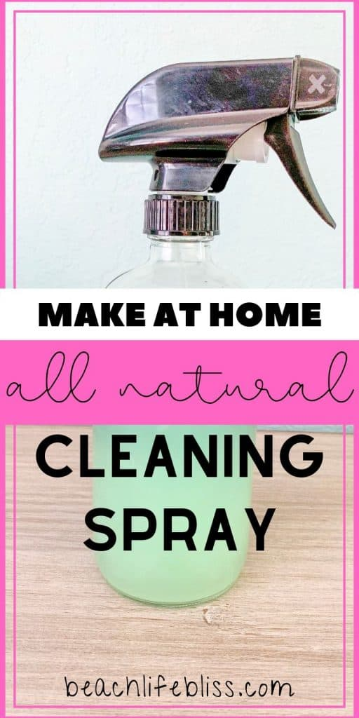 How To Make All Natural Vinegar Cleaning Spray At Home