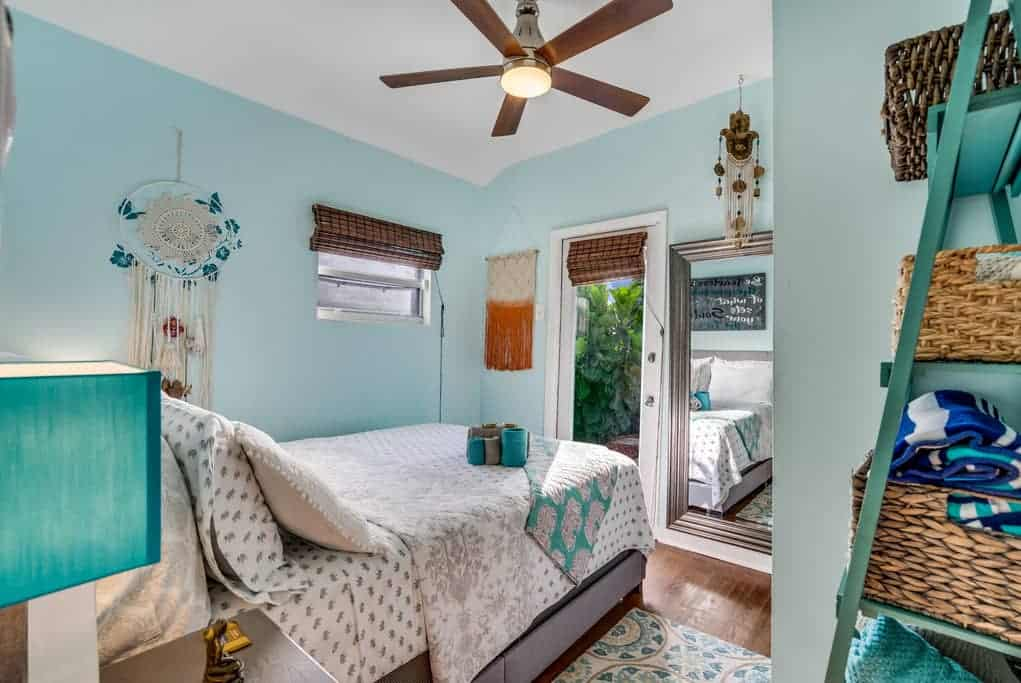 The Succulent House -  AirBnb in Lake Worth Beach, Florida House Tour - Boho Coastal Decorating Ideas
