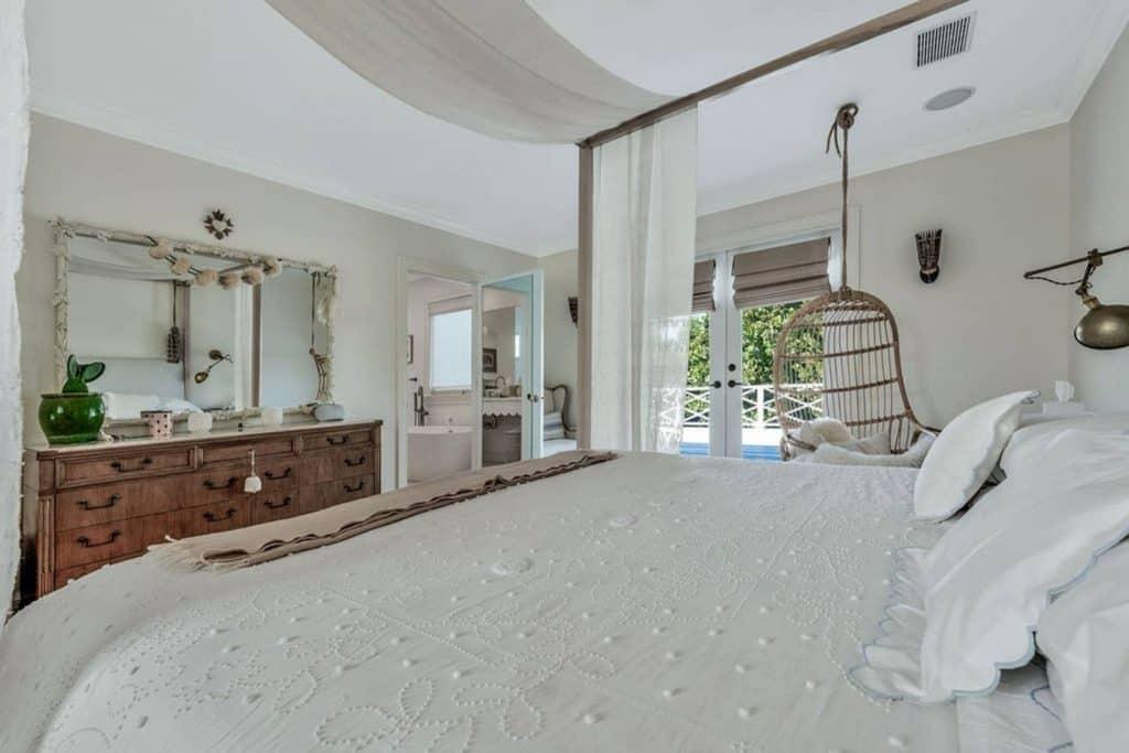 Bohemian Elegant Luxury Paradise AirBnb Beach House Decor - neutral bedroom decor