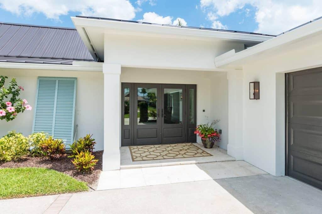 Modern Coastal Design Ideas - Beach House Front Door