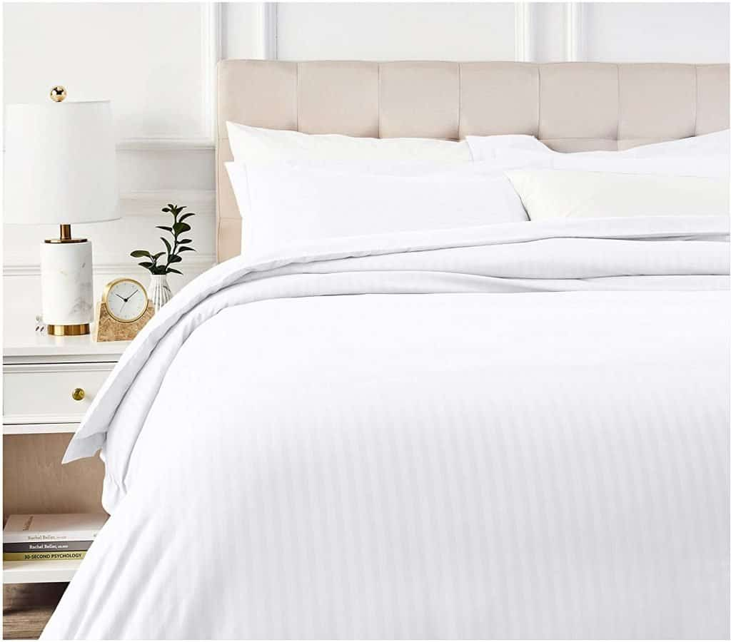 AirBnb Bedding White Sheets