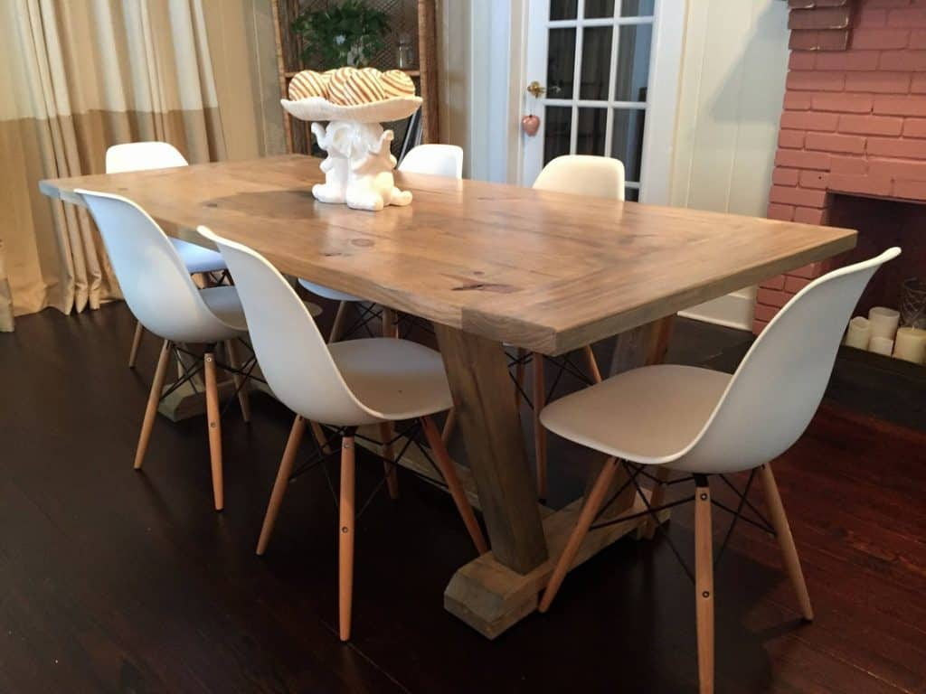 Custom Classic Farmhouse Dining Table
