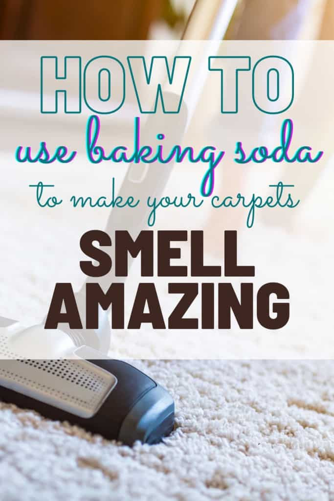 How to use baking soda to make your carpets smell amazing