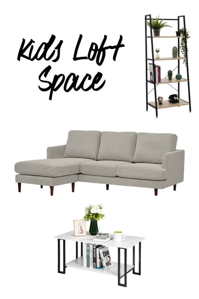 Kids Loft Space Look