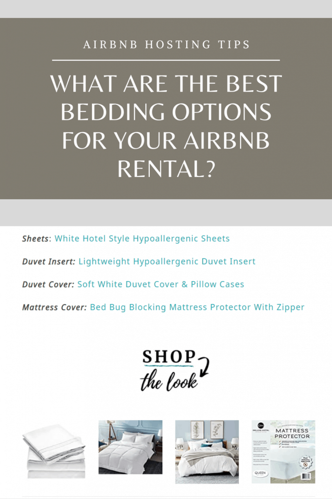 AirBnb Hosting Tips - What Are The Best Bedding Options For Your AirBnb Rental?