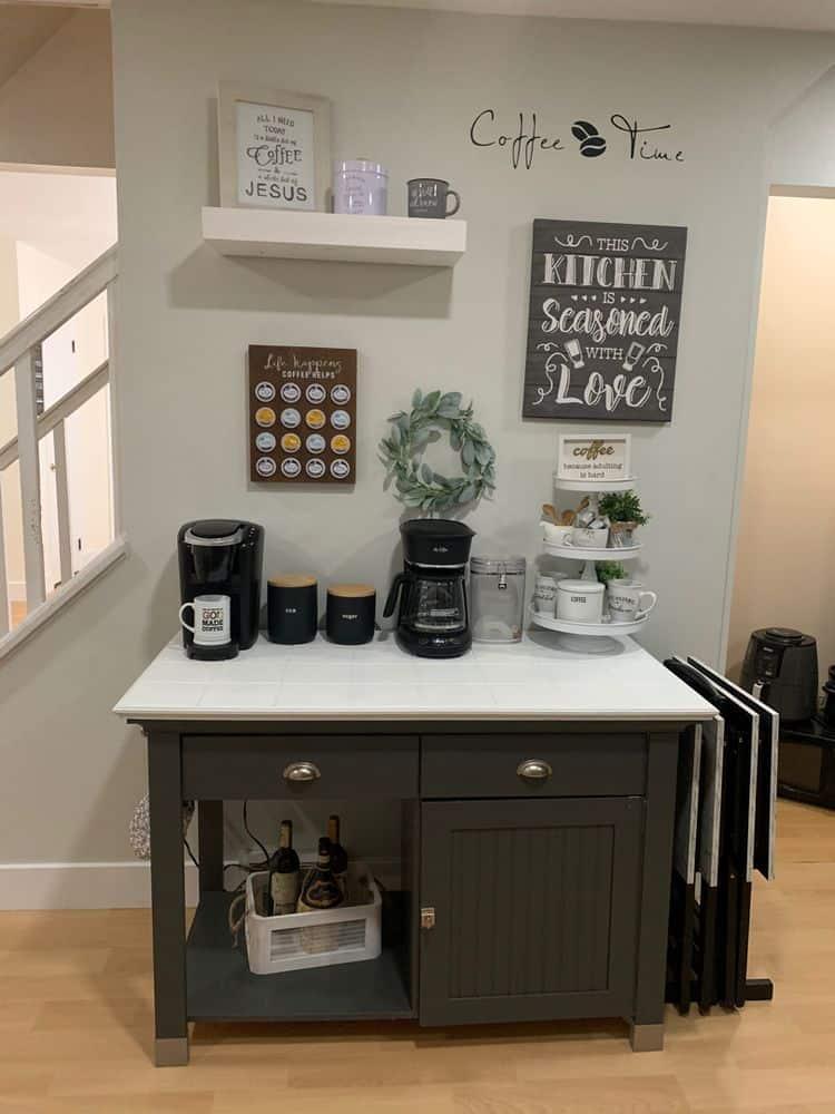 Coffee Bar Pinterest Ideas