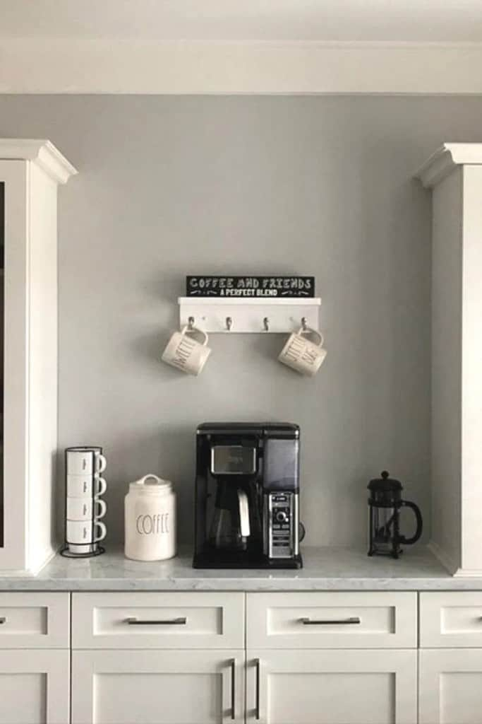Kitchen Countertop Coffee Area - Ideas For Your AirBnb