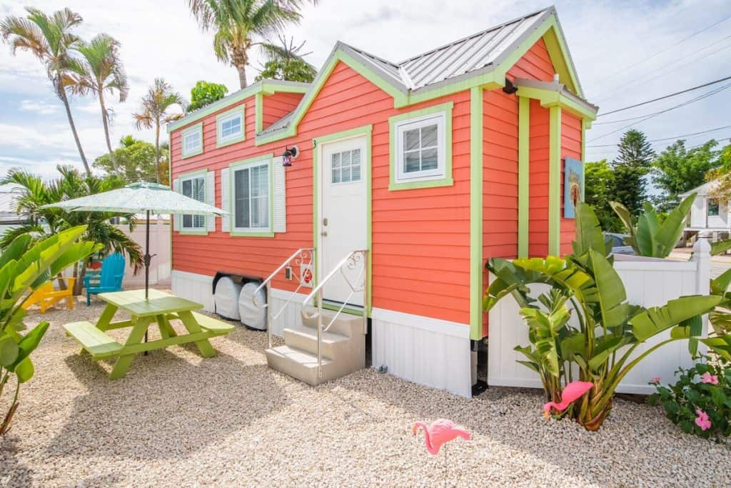 Bright Orange Tiny House