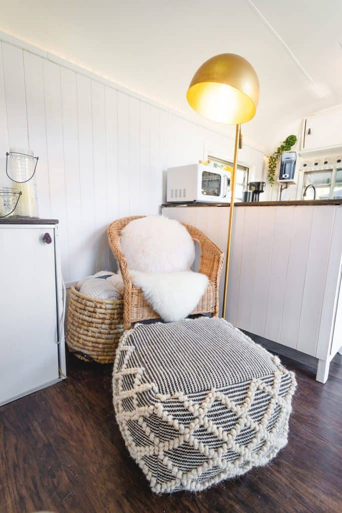 Reading Nook - Bohemian Style Interior Design Tiny House
