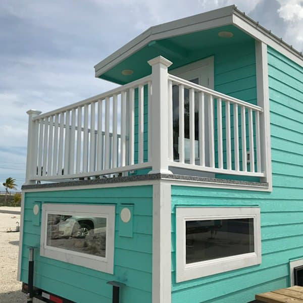 Ocean Green Tiny House in Florida