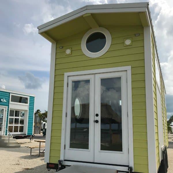 Key Lime Green Tiny House