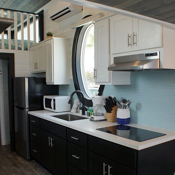 Tiny House Village Kitchen