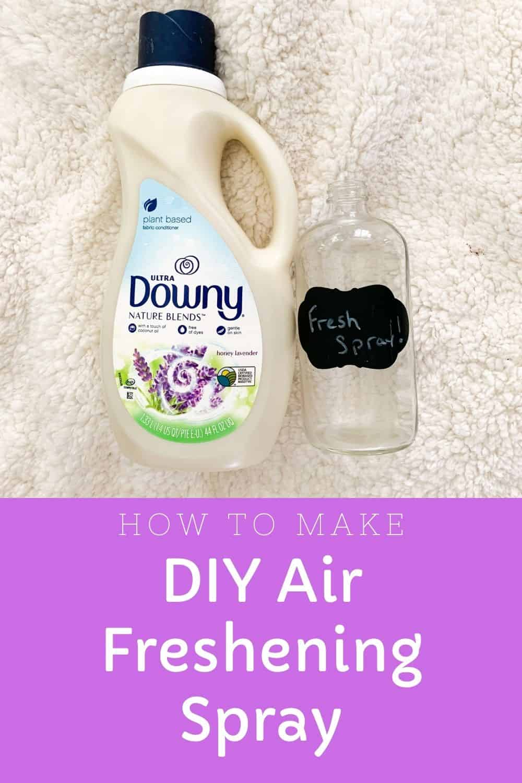 How To Make DIY Air Freshener Spray