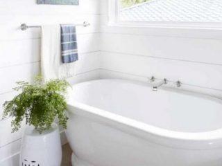 Calm Coastal Master Bathroom