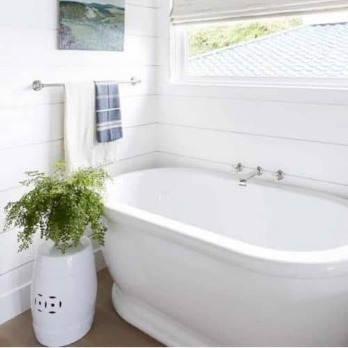 Calm Coastal Master Bathroom
