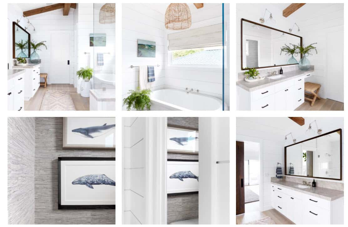 Calm Coastal Master Bedroom Design Photo Gallery By Pure Salt Interiors
