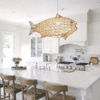Coastal Rattan Light Fixtures