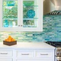 Coastal Kitchen Beachy Backsplash Ideas