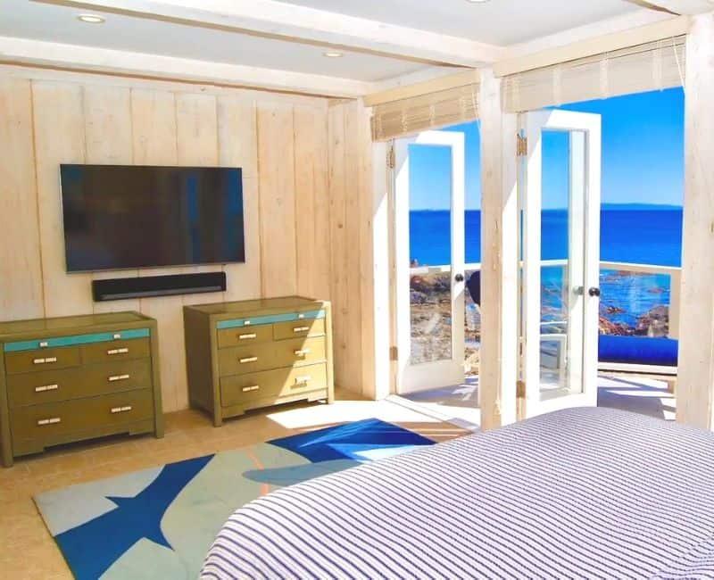 Malibu Beachfront Bedroom Serenity by the Sea