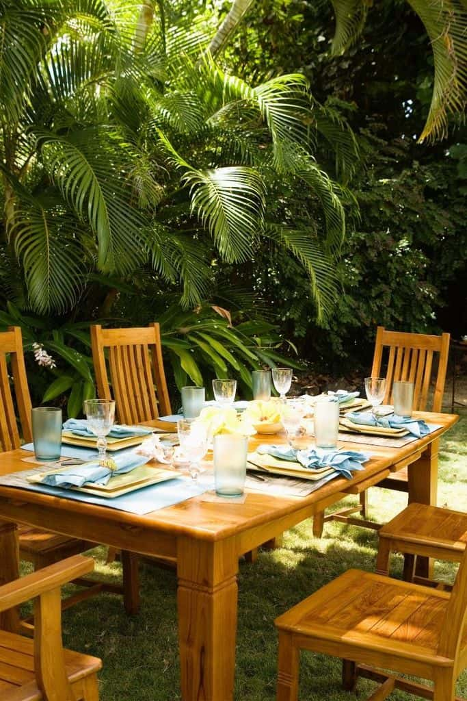 Outdoor Space For Vacation Rental