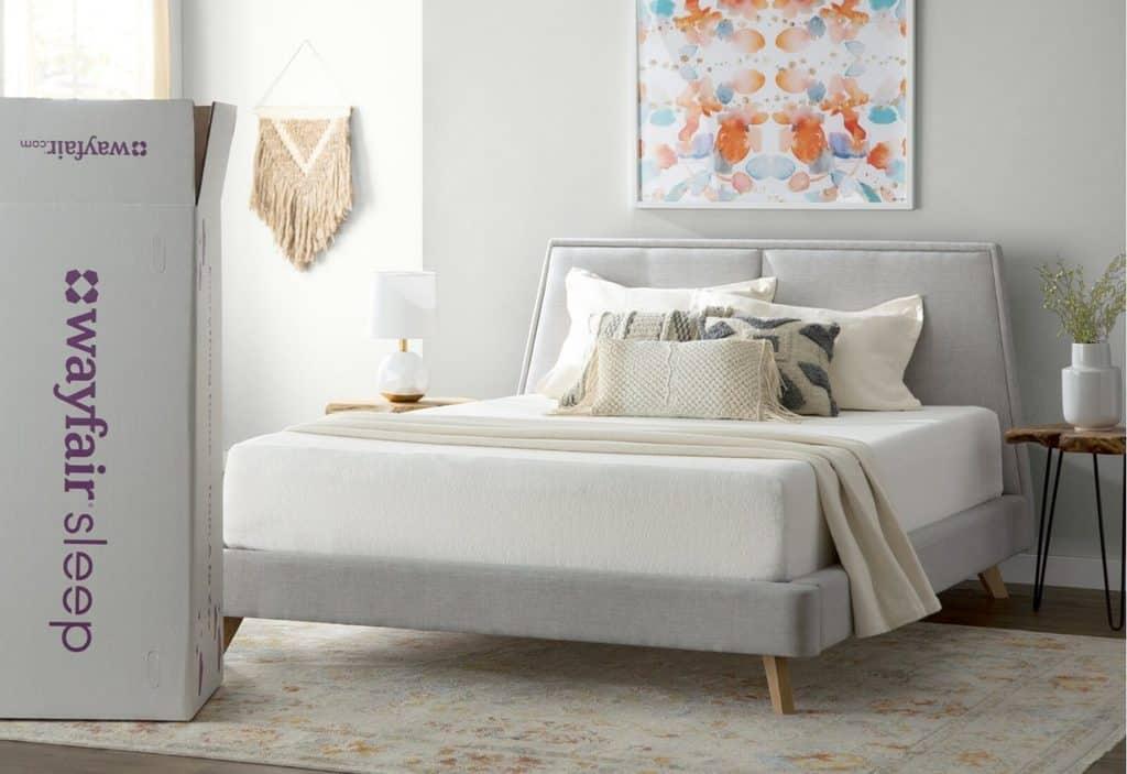 Wayfair Sleep Medium Memory Foam Mattress - Cheap and Comfortable Mattress For AirBnb