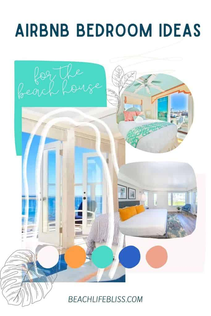 Airbnb bedroom ideas for your beach rental house