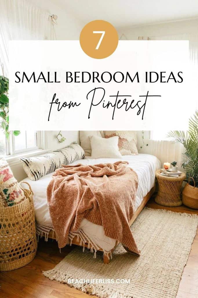 small bedroom ideas from pinterest