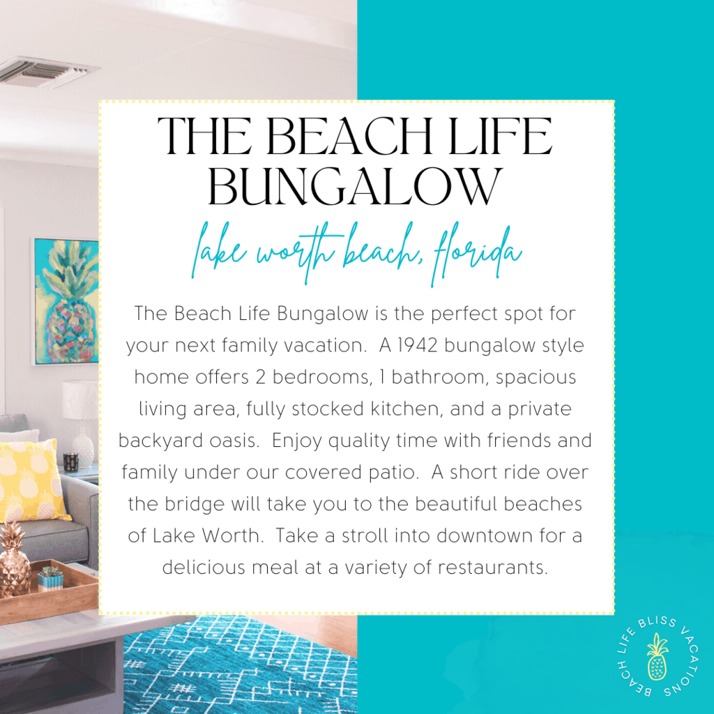 The Beach Life Bungalow Instagram Template
