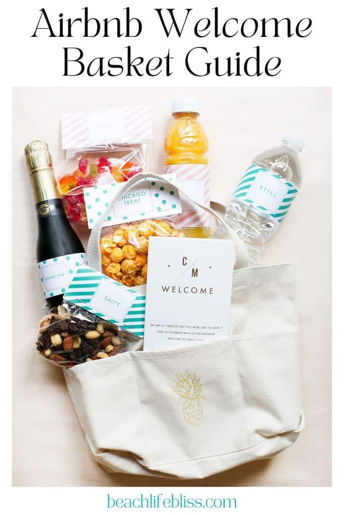 airbnb welcome basket guide