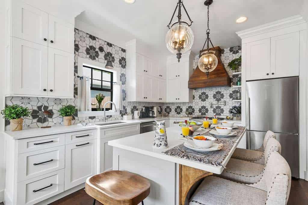 chic downtown luxury white kitchen airbnb west palm beach