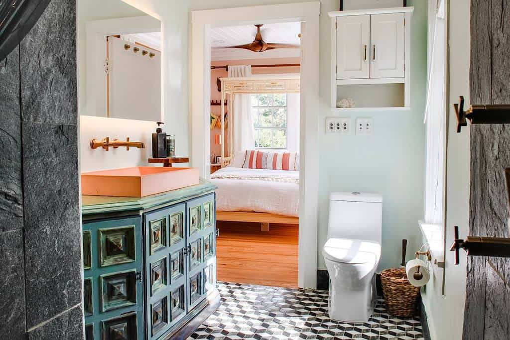 old florida bathroom rattan bedroom