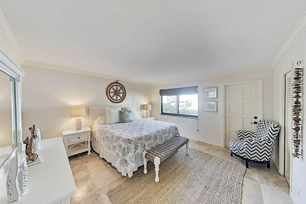 shell shack master bedroom simple coastal nautical accents