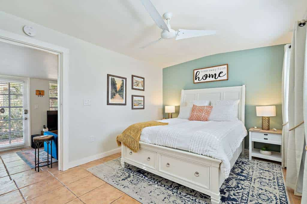 small bedroom airbnb beach cottage